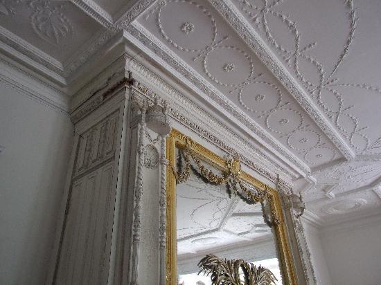 Ventfort Hall Mansion and Gilded Age Museum: Restored plasterwork is amazing
