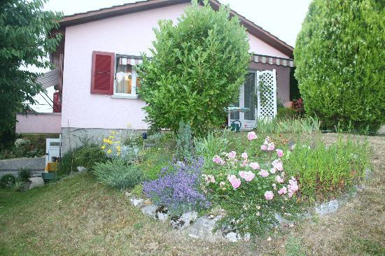 Ивердон, Швейцария: le calme d'un quartier résidentiel à 2 pas du centre