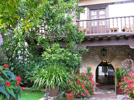 Hotel Casa del Marques: La parte de atrás