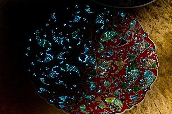 Sultans Ceramic: Phosphorous plate
