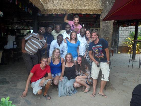 Kalulu Backpackers Hostel : @ the bar