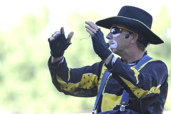 Rodeo Clown Dennis Halstead Picture Of Medicine Hat