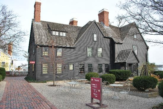 The House of the Seven Gables: Outside the House of Seven Gables