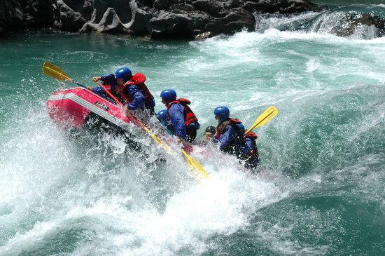 Aguas Blancas Rafting: Bienvenida- Frontera