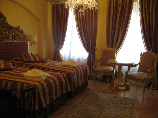 Alchymist Nosticova Palace: our lovely room