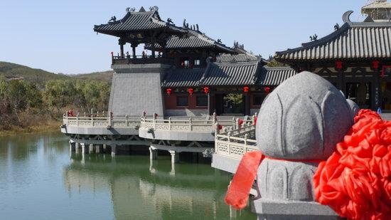 Ντατόνγκ, Κίνα: temple