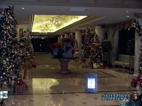 The San Luis Resort: The Lobby in November