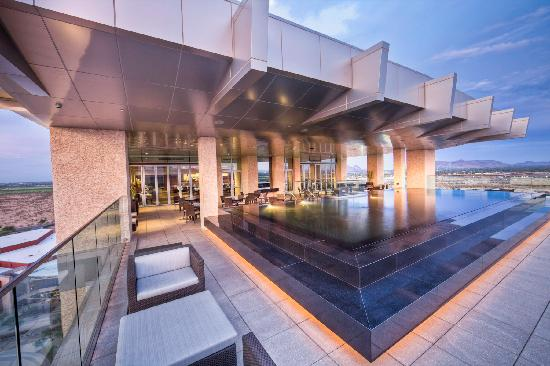 Talking Stick Resort: The patios at Orange Sky Restaurant and Lounge offers 360-degree views of the Valley's signature