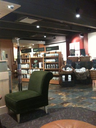 Starbucks : Inside