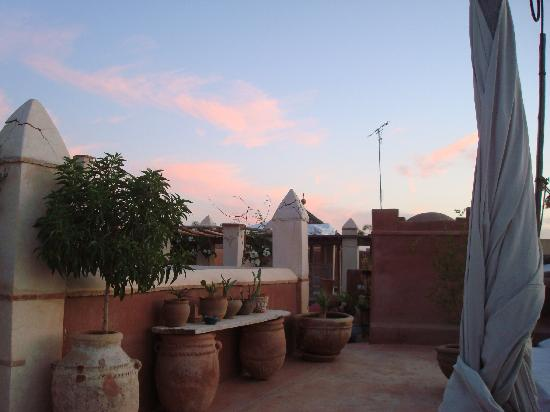 Riad les Inseparables: la terrasse
