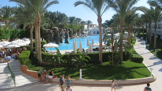 Baron Palms Resort Sharm El Sheikh: View from The Terrace Bar