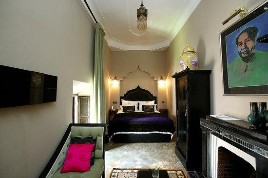Riad Lotus Ambre : Chambre Mao