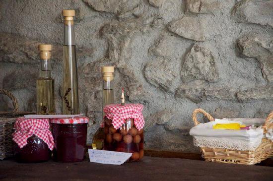B&B Lo Pou: I prodotti fatti in casa da loro