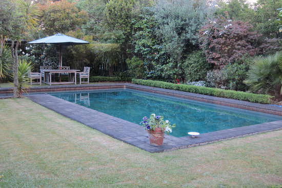 Thorold Country House: pool calming to look at but not to swim