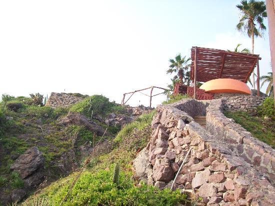 Punta Serena: ya no esta la palapa!