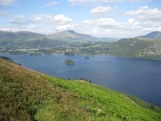 Harvington House: Derwentwater from Catbells