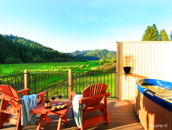 West Sonoma Inn & Spa: Vineyard Cottage Suite