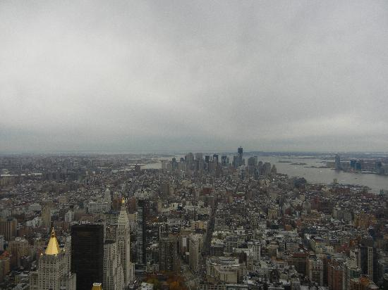 Empire State Building: Vista dall'86° piano