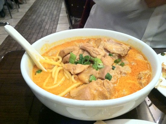 New Malaysia Restaurant: Chicken curry noodle