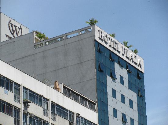 Windsor Plaza Copacabana Hotel: Top Front View