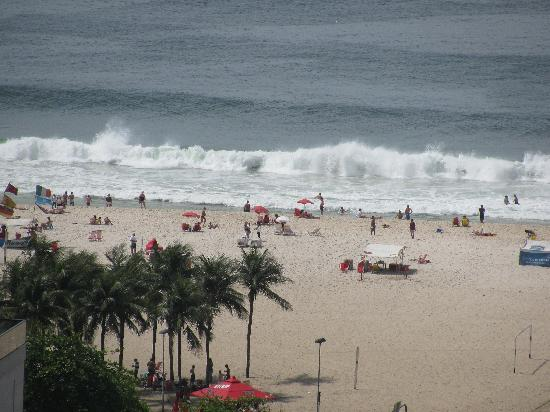 Windsor Plaza Copacabana Hotel: Beach View from Roof Top