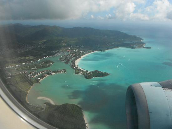 Jolly Beach Resort & Spa: Jolly Beach from the air