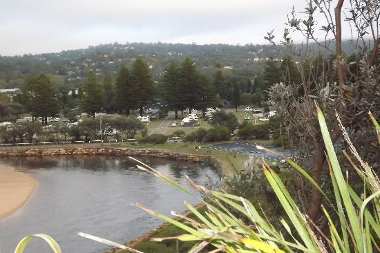 NRMA Sydney Lakeside Holiday Park: Park View