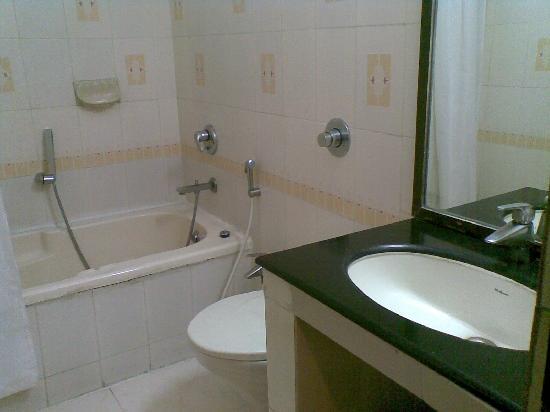 Treebo Grand Plaza: bathroom