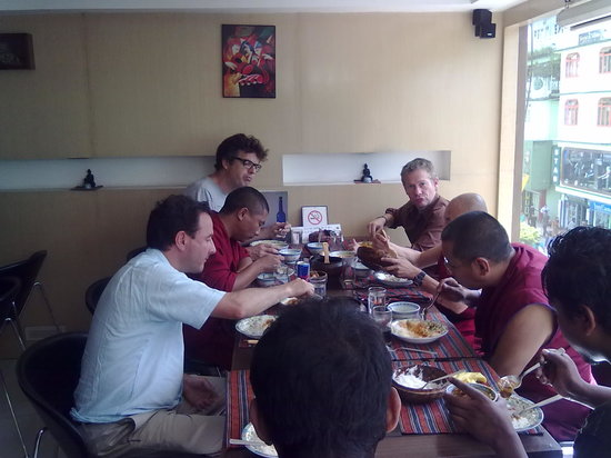 9'INE Native Cuisine: Ian Wright sampling local Sikkimese cuisine at 9INE