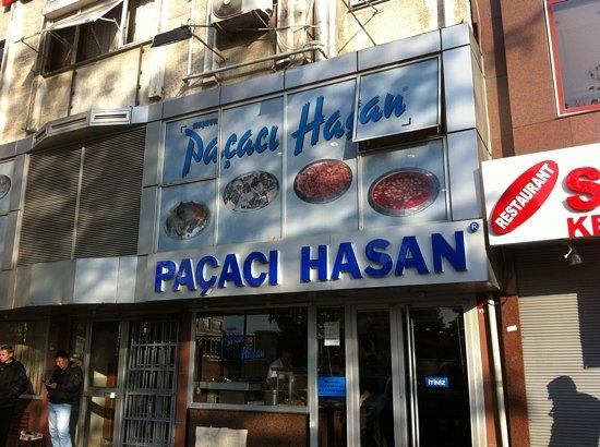 Pacaci Hasan: Outside Sign