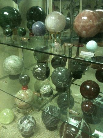 Imperial, CA: Collection of unusual stone orbs