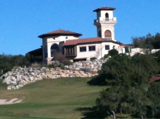 Palmer Course at La Cantera: Palmer Course- looking at the clubhouse from the 9th green