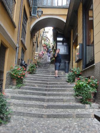 Bellagio Water Limousines: Bellagio steps