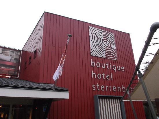 Hotel de Sterrenberg: ホテル正面