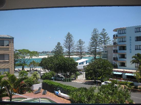 Tranquil Shores Holiday Apartments: View from Unit 9