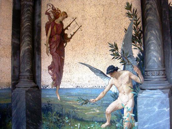 Casa di Riposo per Musicisti Giuseppe Verdi: Particolare della cripta