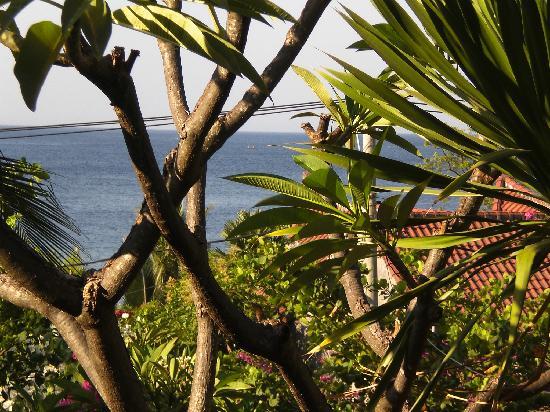 Geria Giri Shanti Bungalows: prachtig uitzicht over zee
