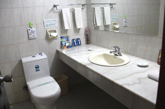 Baoshan Hotel toilet
