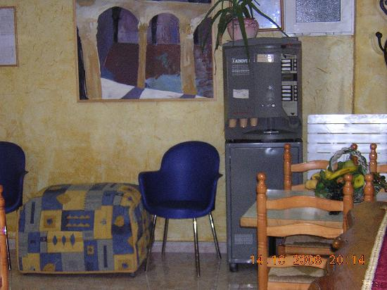 Hostal El Cartero: zona comun