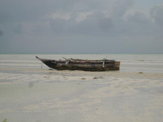 Paje Beach: il mare e' lontanissimo....