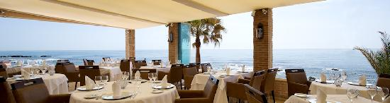 El Oceano Beach Hotel: The stunning Ocean Veranda!