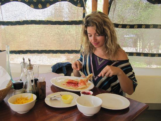 Casa Cabana Beach: A great breakfast made by Dale :) Thank you!