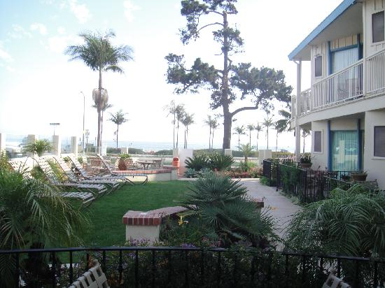 Cabrillo Inn at the Beach: Blick vom Zimmer