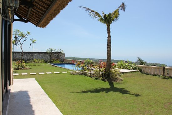 Chateau de Bali Ungasan: View from villa's pavilion