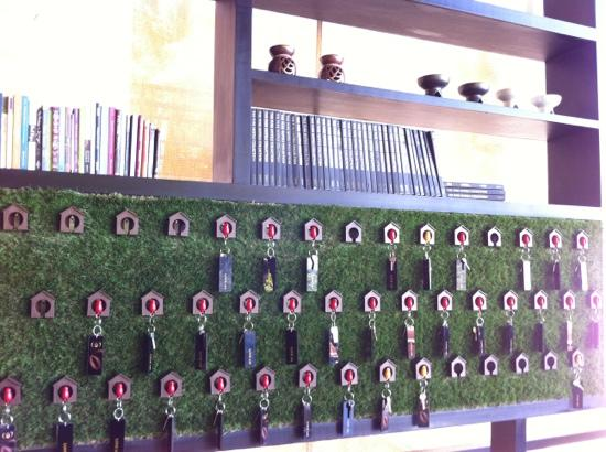 Mantra Samui Resort: loving the artwork created using the room keys