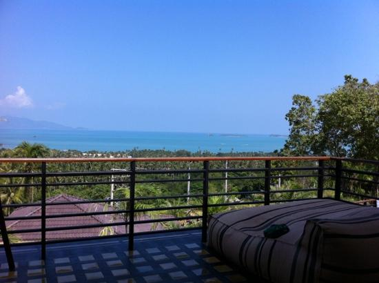 Mantra Samui Resort: view from Love room 121