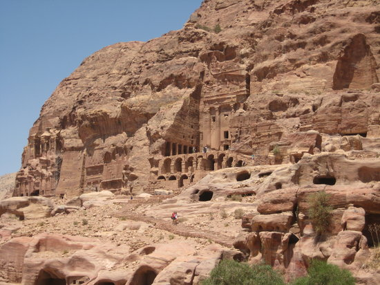 Pétra/Wadi Moussa, Jordanie : Petra
