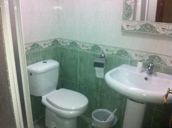 Pensión El Hidalgo: Baño