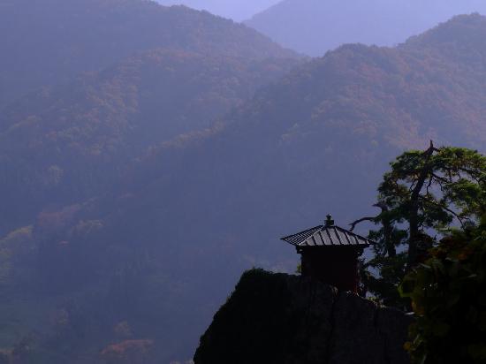 Yamagata, Japon : 立石寺「納経堂」