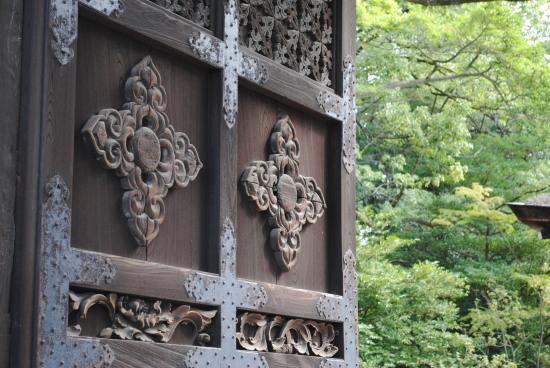 Toyokuni Shrine Karamon: 豊国神社唐門の扉